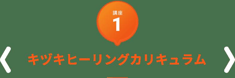 講座1 キヅキヒーリングカリキュラム